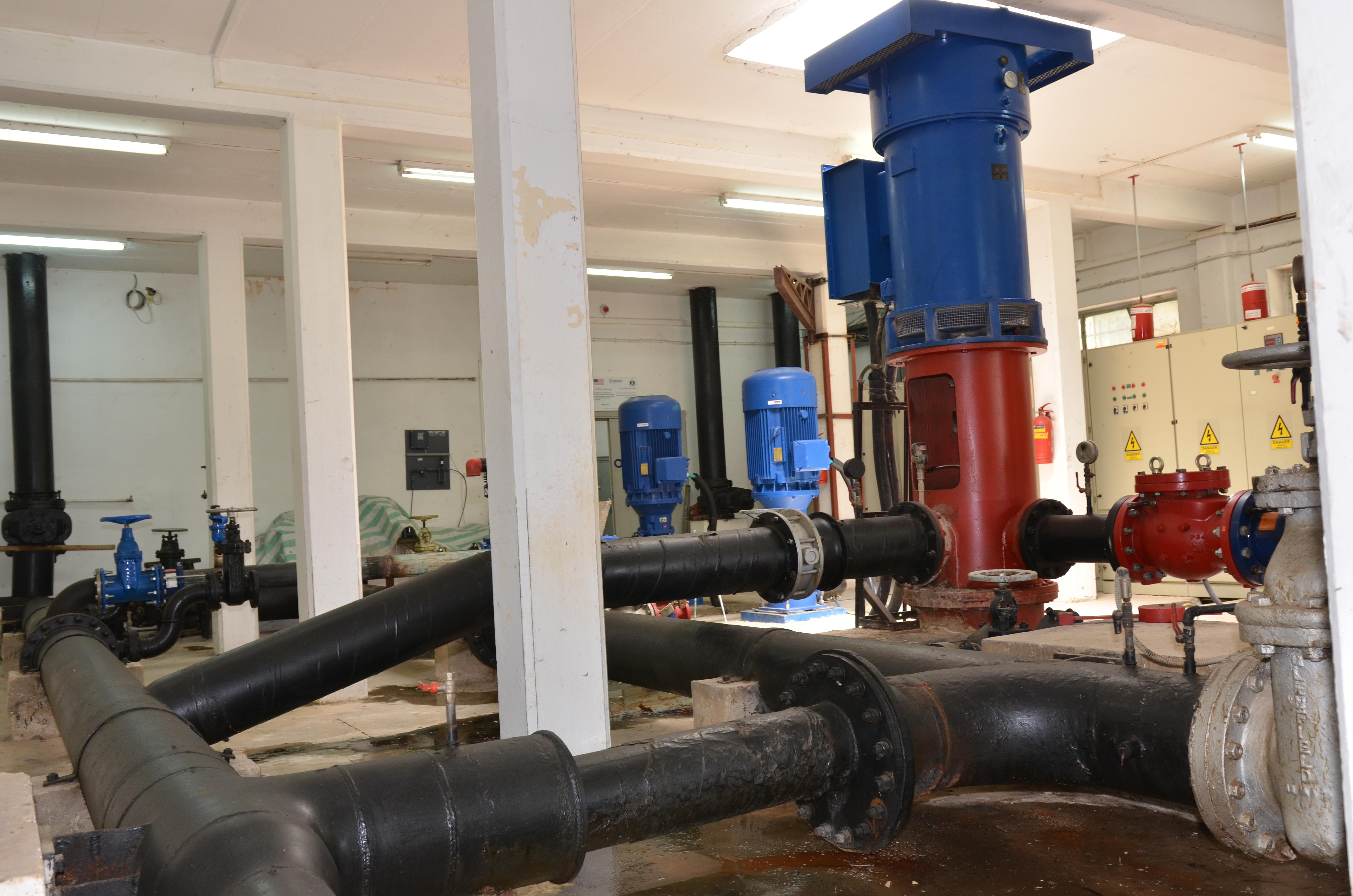 انجازات دائرة عمليات المياه