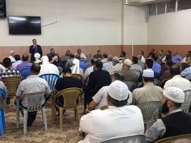 المدير العام يلتقي بائمة المساجد في المحافظة