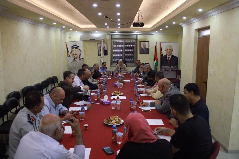 مدير عام المصلحة يشارك في اجتماع المجلس التنفيذي في المحافظة
