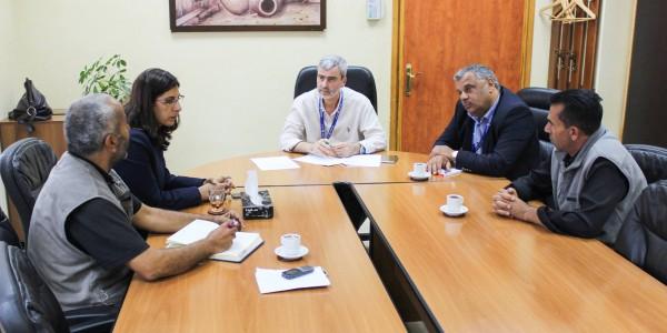 مدير العام يستقبل مجلس بلدي حزما ويعلن عن ارتفاع الفاقد هناك لدرجة خطيرة