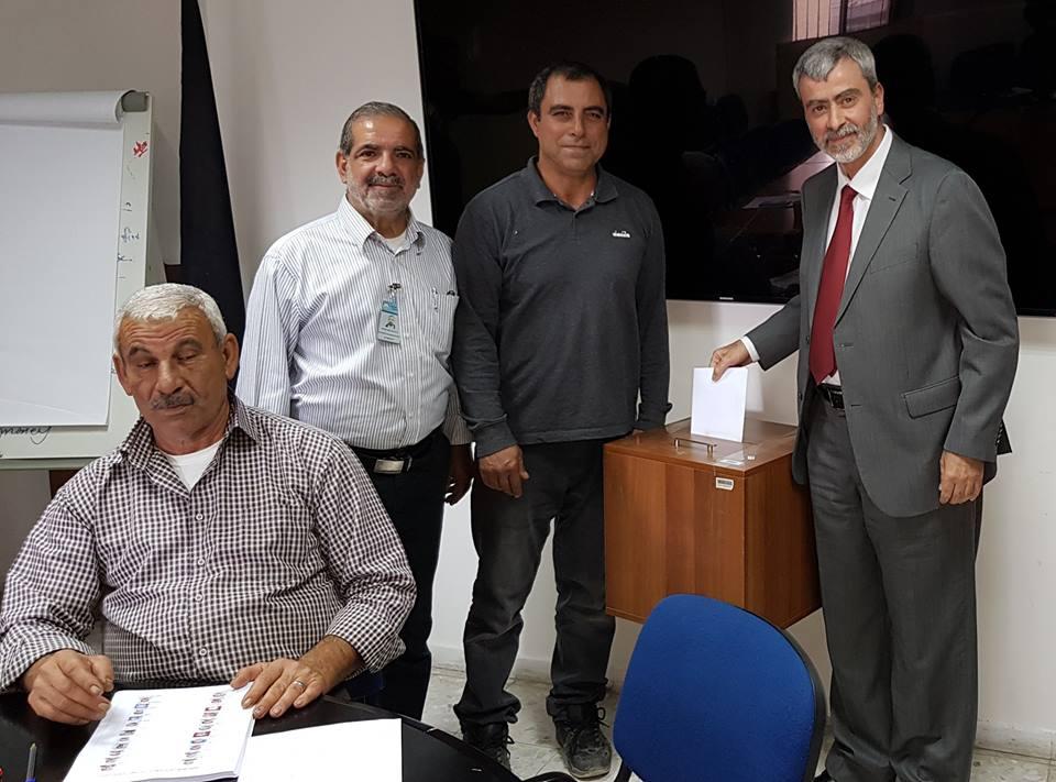 المدير العام يشارك في انتخابات نقابة العاملين