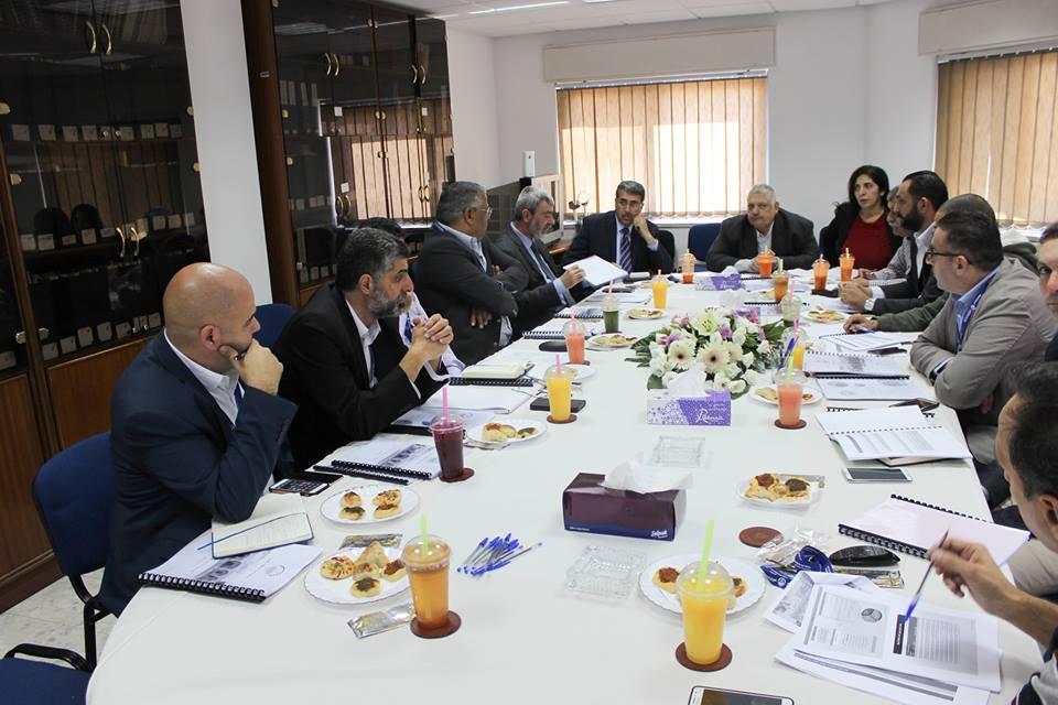 المصلحة تعمل على اعداد الخطة الاستراتيجية للاعوام 2019 – 2021