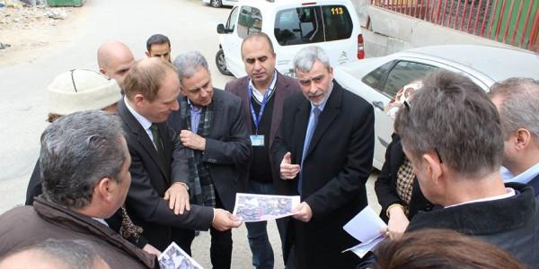 زيارة وفد من البرلمان الألماني وبنك التنمية الألماني لمشاريع مصلحة مياه محافظة القدس