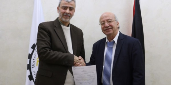 مصلحة مياه محافظة القدس تجدد اتفاقية مكتب المحامي نبيل مشحور لعام 2020